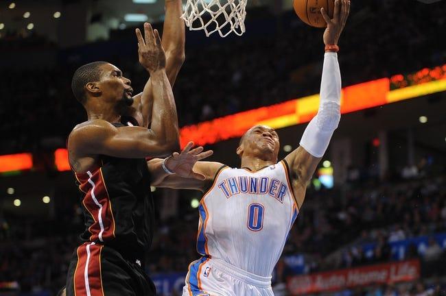 Thunder at Heat - 1/20/15 NBA Pick, Odds, and Prediction