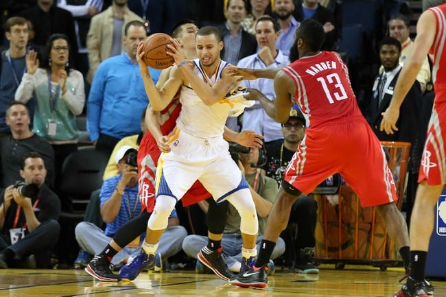 Houston Rockets vs. Golden State Warriors 10/19/14 NBA Preseason Pick, Odds, Prediction