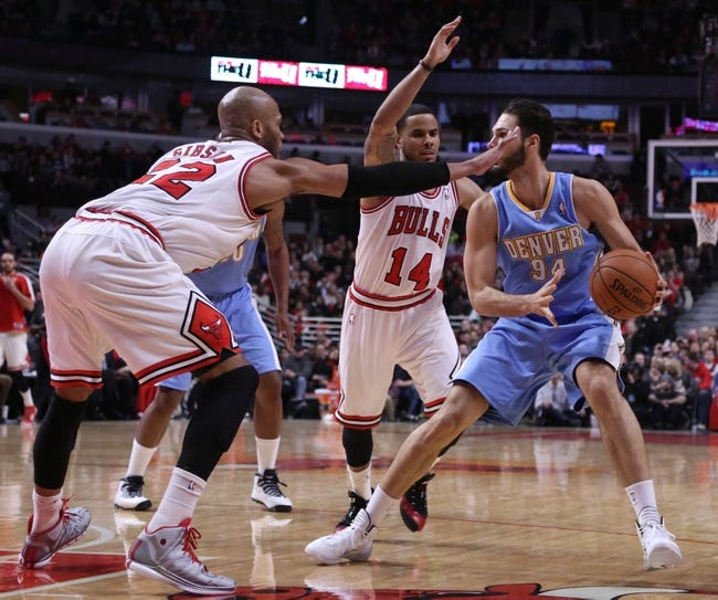 Nuggets vs. Bulls - 10/13/14 NBA Preseason Pick, Odds, Prediction