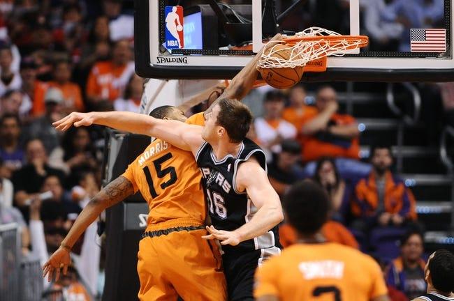 San Antonio Spurs vs. Phoenix Suns - 4/11/14
