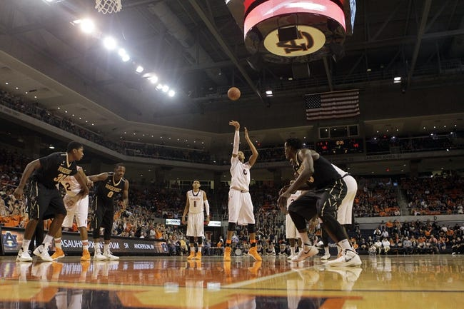 Vanderbilt vs. Auburn - 1/6/15 College Basketball Pick, Odds, and Prediction