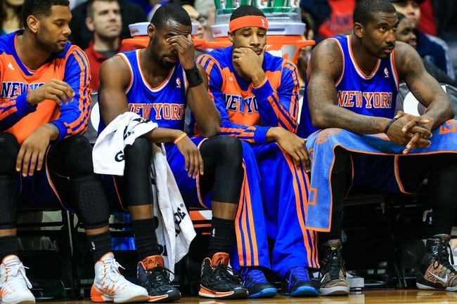 Hawks vs. Knicks - 11/8/14 NBA Pick, Odds, and Prediction