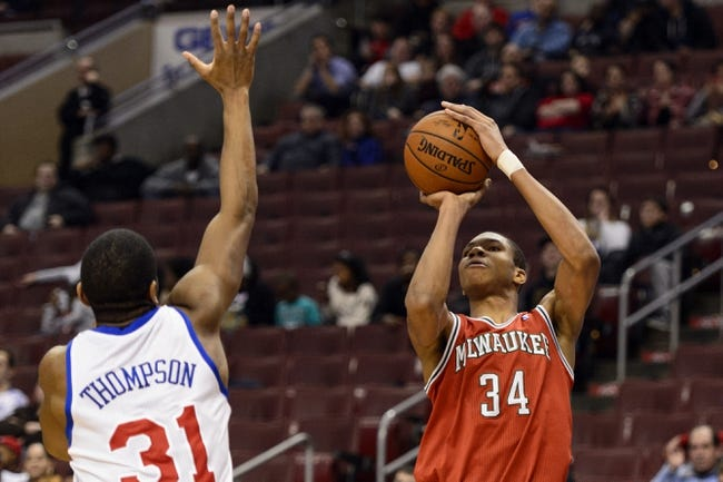 Milwaukee Bucks vs. Philadelphia 76ers - 10/31/14 NBA Pick, Odds, and Prediction