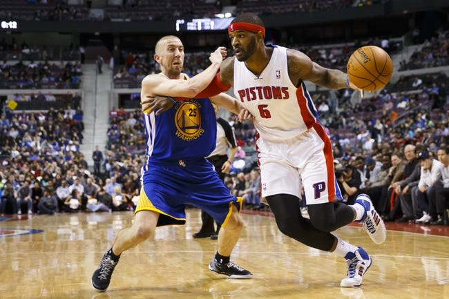 Detroit Pistons vs. Golden State Warriors - 11/30/14 NBA Pick, Odds, and Prediction