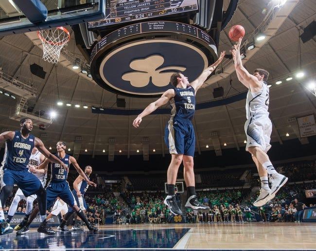 Notre Dame vs. Georgia Tech - 1/3/15 College Basketball Pick, Odds, and Prediction