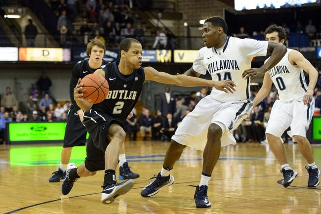 Villanova vs. Butler - 12/31/14 College Basketball Pick, Odds, and Prediction