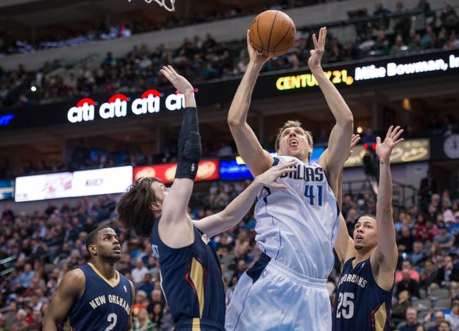 Dallas Mavericks vs. New Orleans Pelicans - 12/10/14 NBA Pick, Odds, and Prediction
