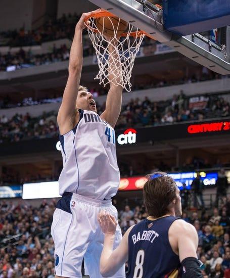 New Orleans Pelicans vs. Dallas Mavericks - 11/1/14 NBA Pick, Odds, and Prediction