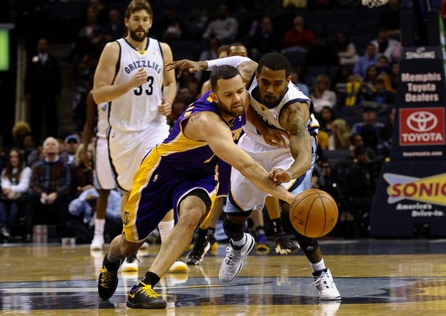 Los Angeles Lakers vs. Memphis Grizzlies NBA Pick, Odds, Prediction 4/13/14