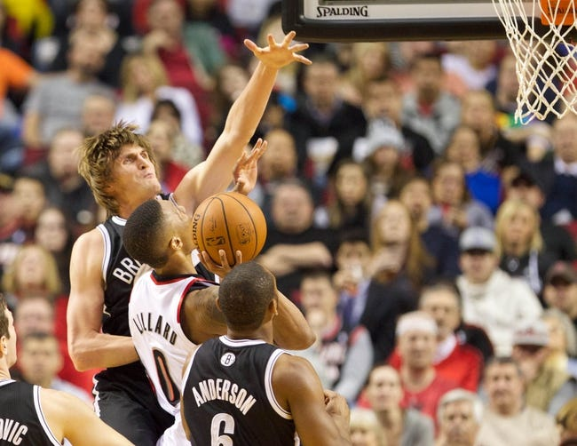 Trail Blazers vs. Nets - 11/15/14 NBA Pick, Odds, and Prediction