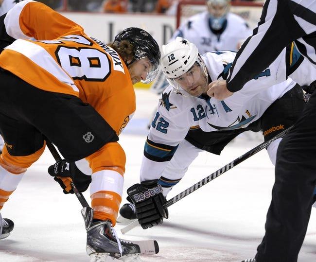 NHL | Philadelphia Flyers (8-12-3) at San Jose Sharks (11-10-4)