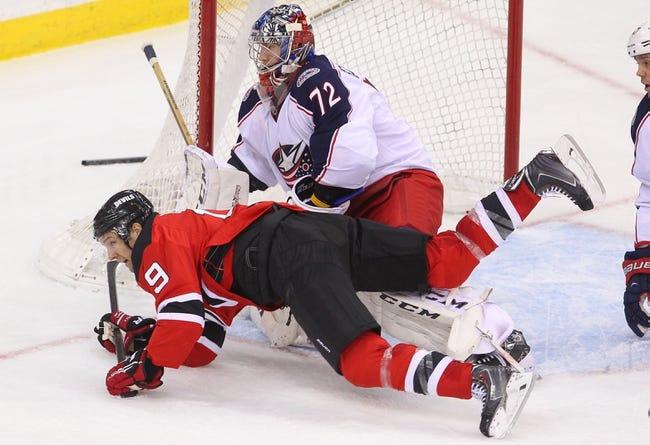 NHL | Columbus Blue Jackets (4-5-0) at New Jersey Devils (5-3-2)