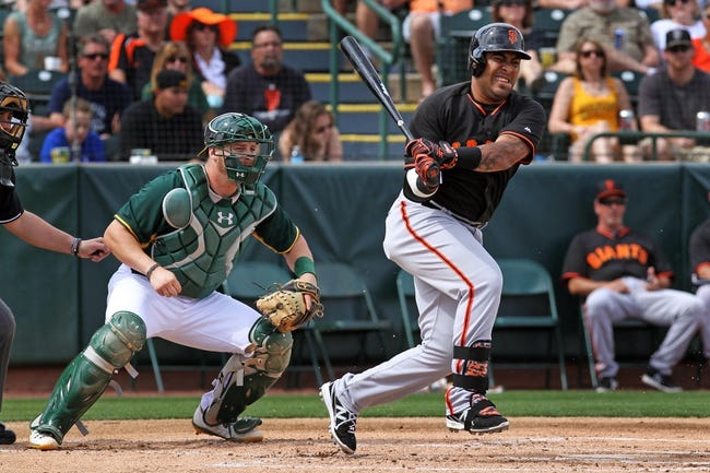 Oakland Athletics vs. San Francisco Giants MLB Pick, Odds, Prediction 7/7/14