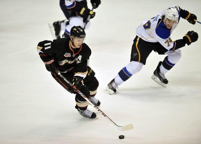 Anaheim Ducks vs. St. Louis Blues - 10/19/14