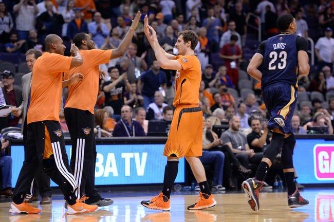 New Orleans Pelicans vs. Phoenix Suns - 4/9/14