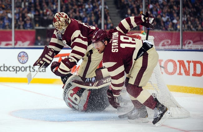 Vancouver Canucks vs. Ottawa Senators - 11/11/14 NHL Pick, Odds, and Prediction