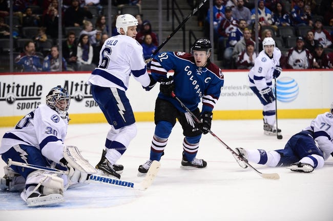 Lightning vs. Avalanche - 1/17/15 NHL Pick, Odds, and Prediction