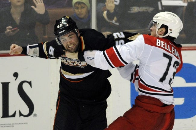 Anaheim Ducks vs. Carolina Hurricanes - 2/3/15 NHL Pick, Odds, and Prediction
