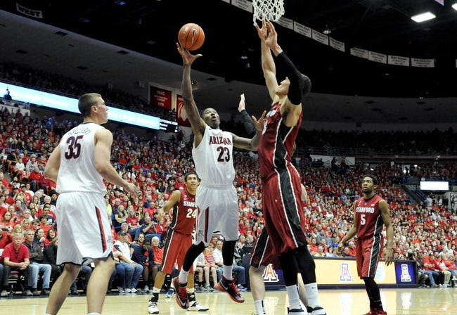 Stanford vs. Arizona - 1/22/15 College Basketball Pick, Odds, and Prediction
