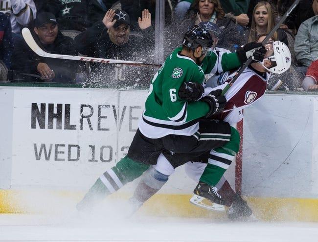 Colorado Avalanche vs. Dallas Stars - 11/29/14 NHL Pick, Odds, and Prediction