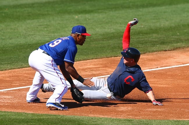 Texas Rangers vs. Cleveland Indians Pick-Odds-Prediction - 6/6/14