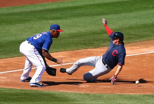 Texas Rangers vs. Cleveland Indians MLB Pick, Odds, Prediction - 6/7/14