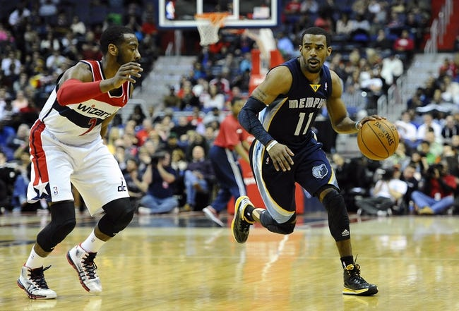 Wizards vs. Grizzlies - 3/12/15 NBA Pick, Odds, and Prediction