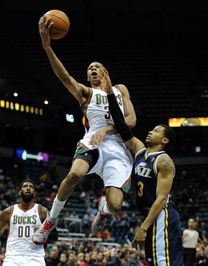 Milwaukee Bucks vs. Utah Jazz - 1/22/15 NBA Pick, Odds, and Prediction