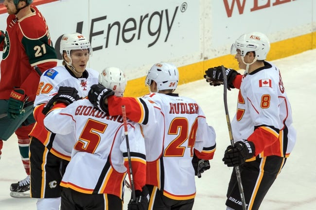 Calgary Flames vs. Minnesota Wild -  NHL Pick, Odds, and Prediction
