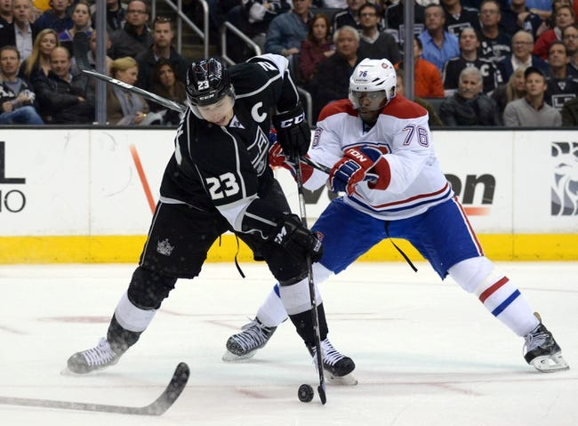 Montreal Canadiens vs. Los Angeles Kings - 12/12/14 NHL Pick, Odds, and Prediction