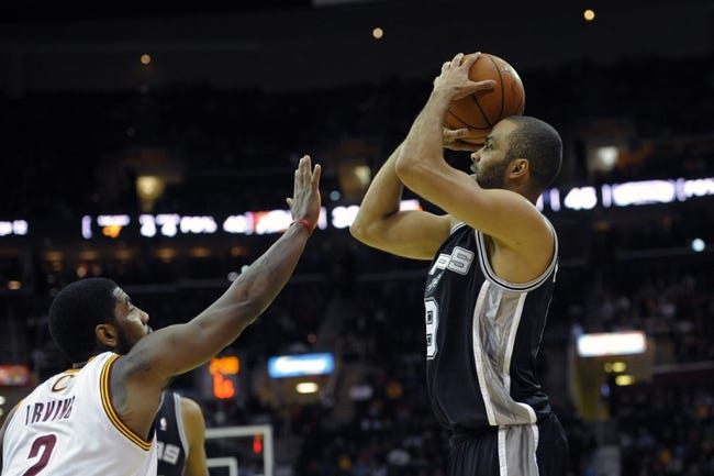 Cleveland Cavaliers vs. San Antonio Spurs - 11/19/14 NBA Pick, Odds, and Prediction