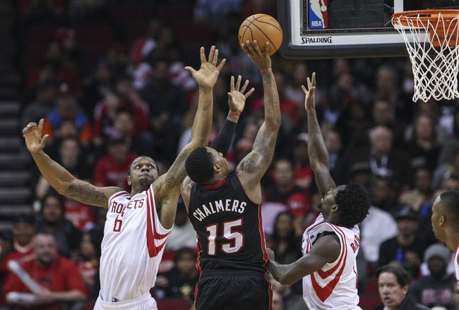 Miami Heat vs. Houston Rockets 10/21/14 NBA Preseason Pick, Odds, Prediction