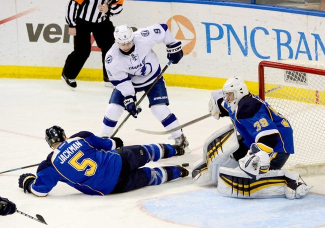 St. Louis Blues vs. Tampa Bay Lightning - 2/3/15 NHL Pick, Odds, and Prediction