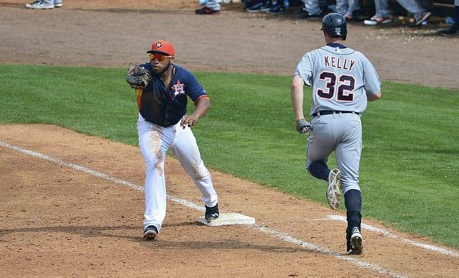 Detroit Tigers vs. Houston Astros MLB Pick, Odds, Prediction - 5/5/14