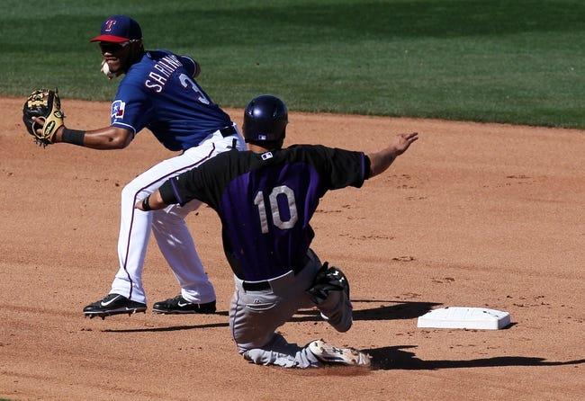 Colorado Rockies vs. Texas Rangers MLB Pick, Odds, Prediction - 5/5/14