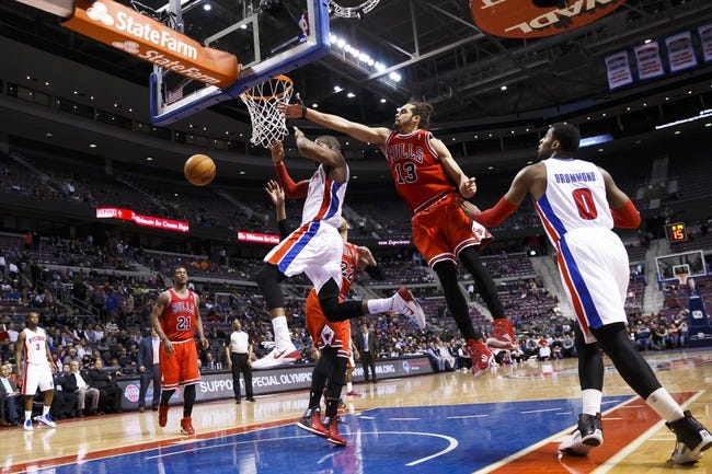 Chicago Bulls vs. Detroit Pistons NBA Pick, Odds, Prediction 4/11/14