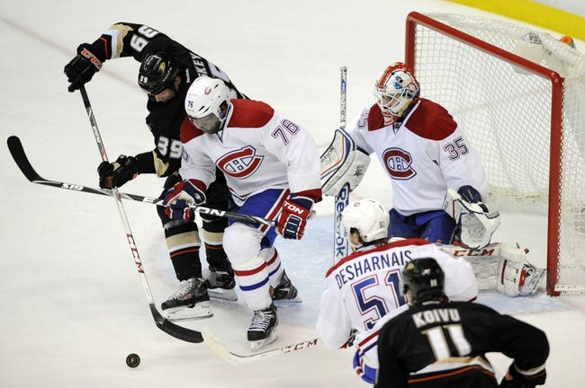 Montreal Canadiens vs. Anaheim Ducks - 12/18/14 NHL Pick, Odds, and Prediction