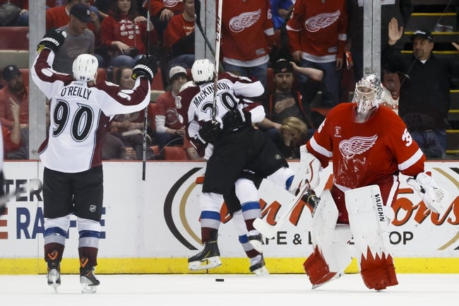 Red Wings vs. Avalanche - 12/21/14 NHL Pick, Odds, and Prediction