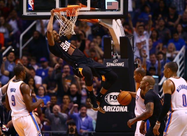 Phoenix Suns vs. Oklahoma City Thunder - 4/6/14