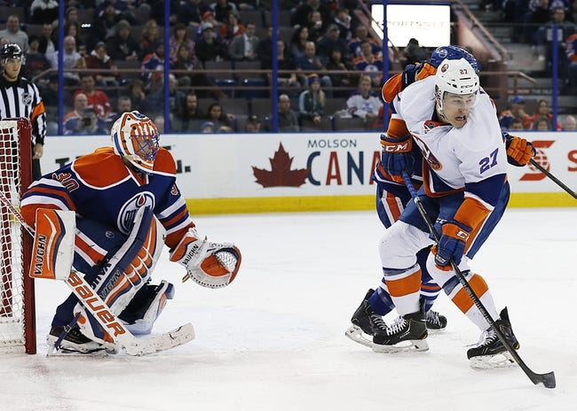 Edmonton Oilers vs. New York Islanders - 1/4/15 NHL Pick, Odds, and Prediction
