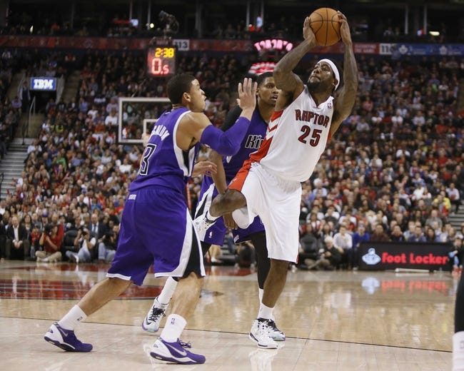 Sacramento Kings vs. Toronto Raptors - 10/5/14 NBA Preseason Pick, Odds, Prediction