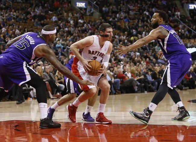 Toronto Raptors vs. Sacramento Kings - 10/7/14 NBA Preseason Pick, Odds, Prediction