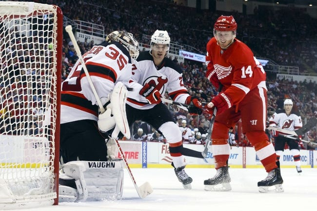 New Jersey Devils vs. Detroit Red Wings - 11/28/14 NHL Pick, Odds, and Prediction
