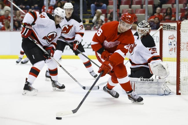 Detroit Red Wings vs. New Jersey Devils - 12/31/14 NHL Pick, Odds, and Prediction