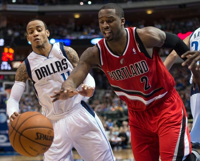 Portland Trail Blazers vs. Dallas Mavericks - 11/6/14 NBA Pick, Odds, and Prediction