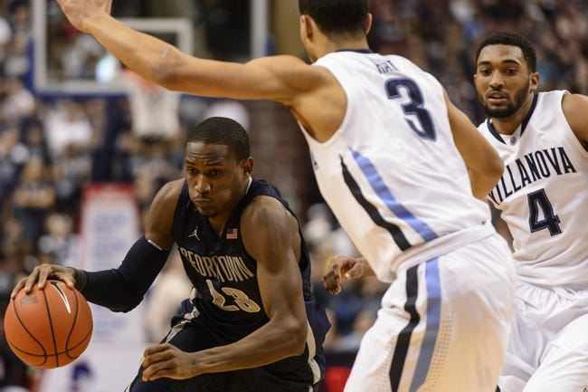 Georgetown vs. Villanova - 1/19/15 College Basketball Pick, Odds, and Prediction