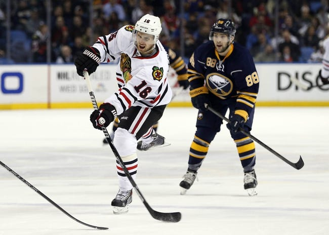 Chicago Blackhawks vs. Buffalo Sabres Pick-Odds-Prediction - 10/11/14