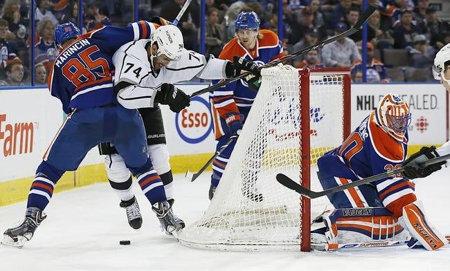 Edmonton Oilers vs. Los Angeles Kings - 4/10/14