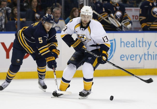 Sabres vs. Predators - 2/22/15 NHL Pick, Odds, and Prediction