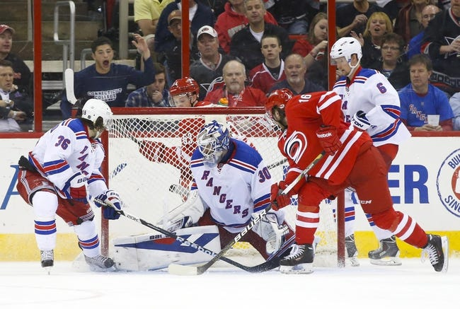 New York Rangers vs. Carolina Hurricanes - 10/16/14 NHL Pick, Odds, Prediction
